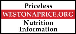 Weston A. Price Priceless Nutrition Information